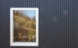 ガルバリウムの外壁